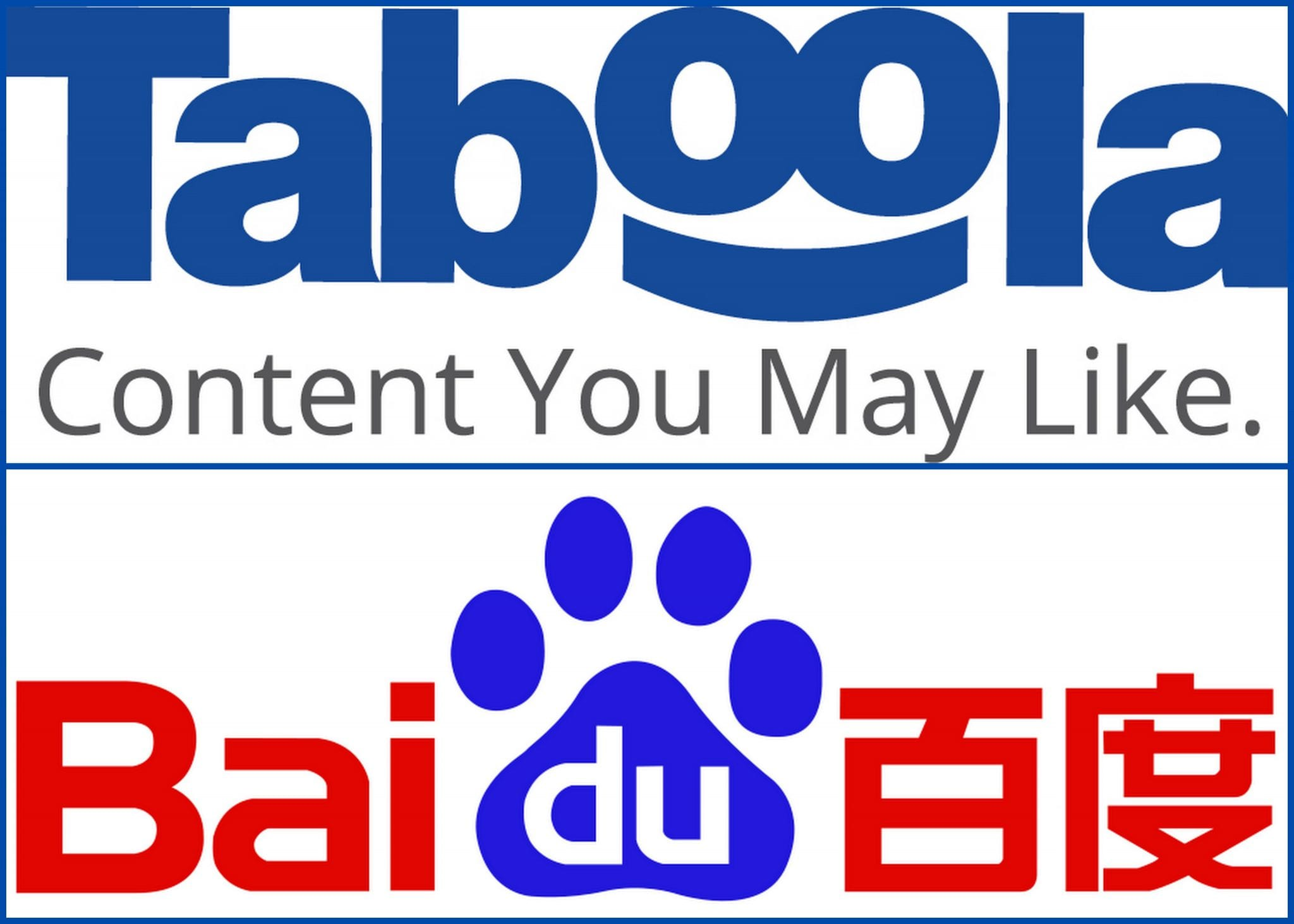 Baidu + Taboola, Bringing Discovery To China