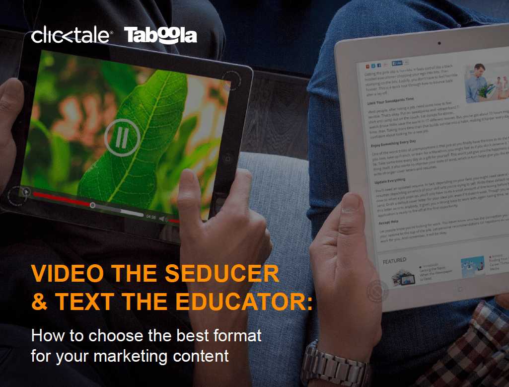 Text vs. Video: How to Choose the Best Format For Your Content