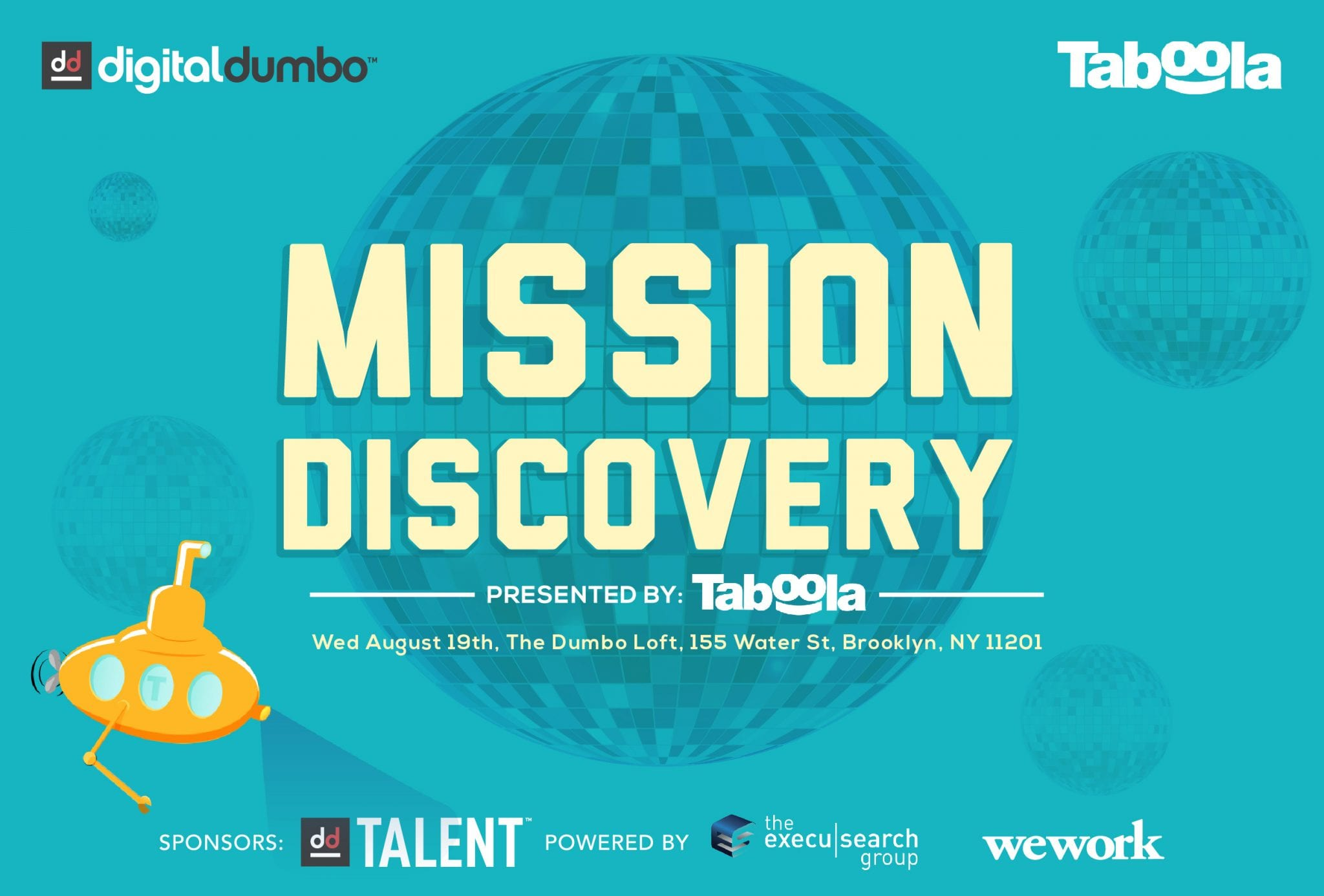"Taboola Hosts ""Mission: Discovery"" Event For NYC Digeratis in DUMBO"