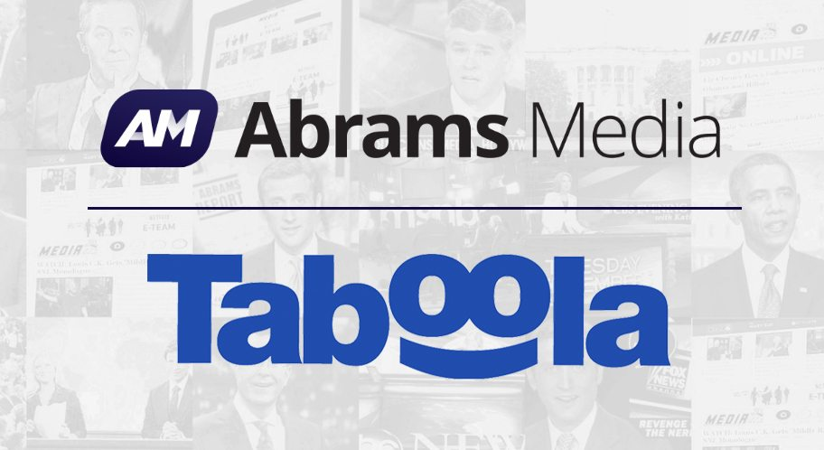 Taboola Teams Up With Abrams Media to Power Network-Wide Discovery and Monetization
