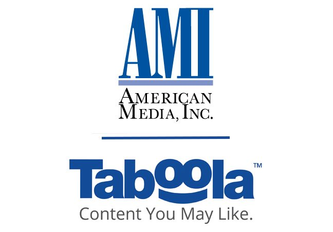 Taboola and American Media, Inc. Bring Discovery to Popular Entertainment & Lifestyle Brands