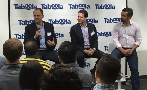 NFL and NBC Sports Discuss Digital Media Playbooks at Taboola HQ