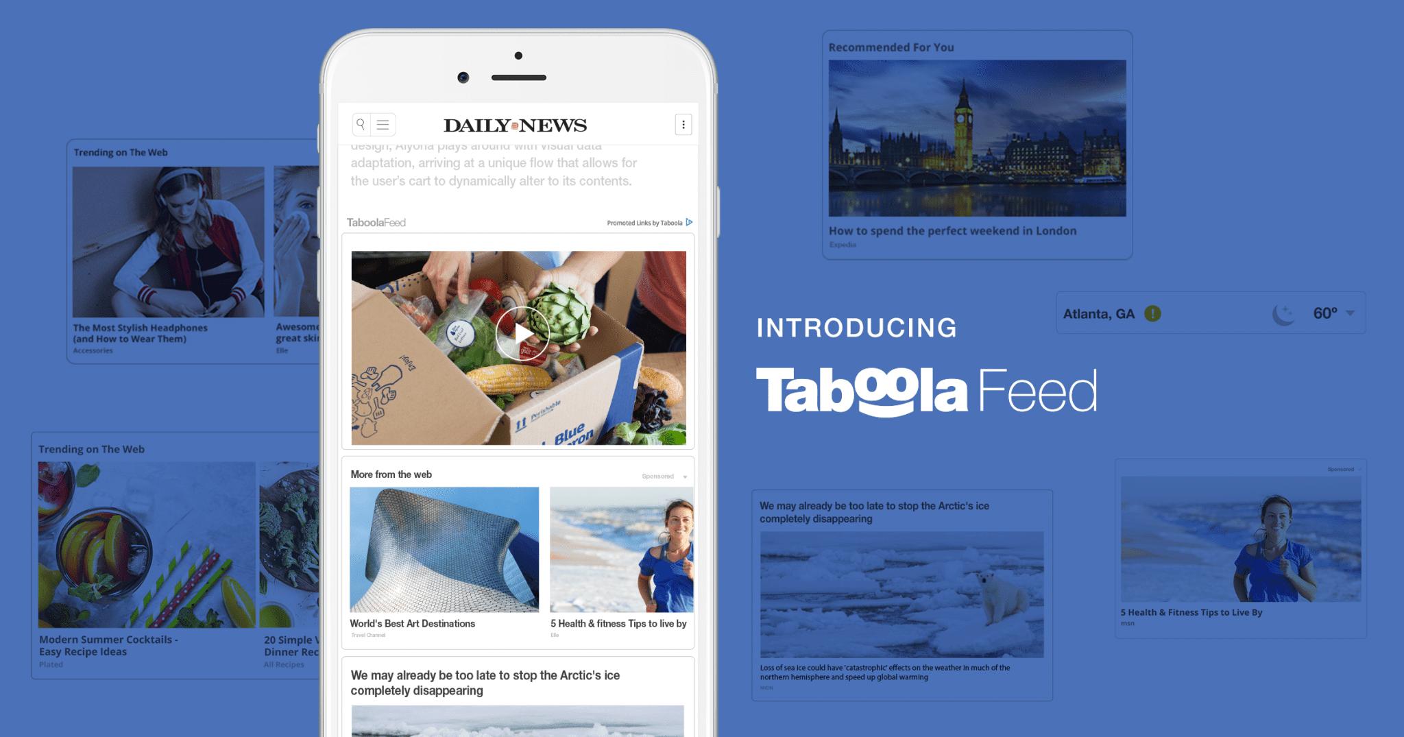 social taboola feed