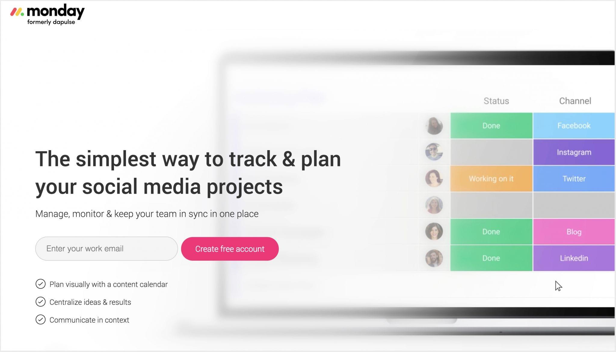 monday.com connects remote teams