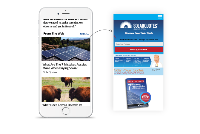SolarQuotes's blog posts promotion