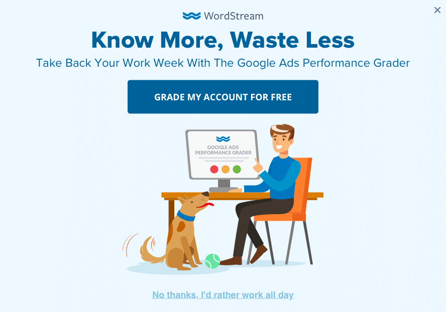 WordStream's On-Site Marketing