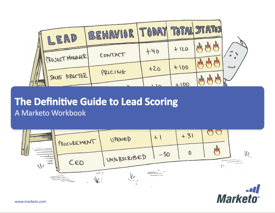 Lead scoring workbook