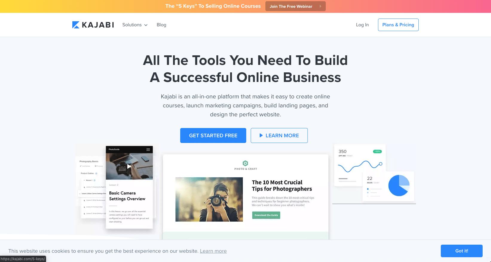 Kajabi - The All-In-One Online Business Platform