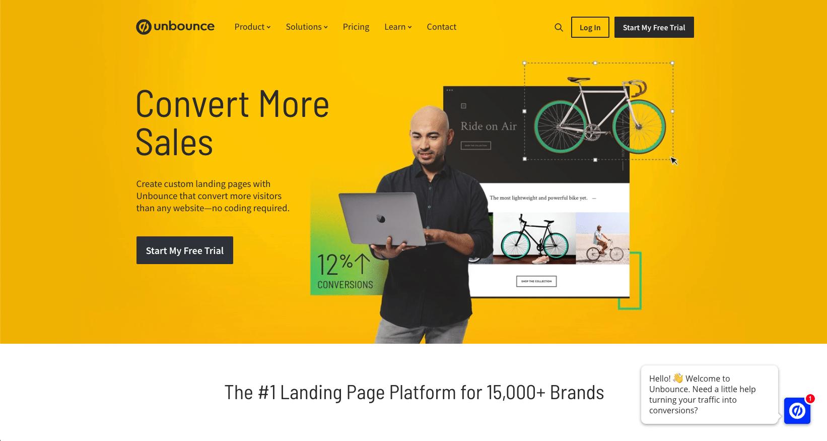 The Landing Page Builder & Platform