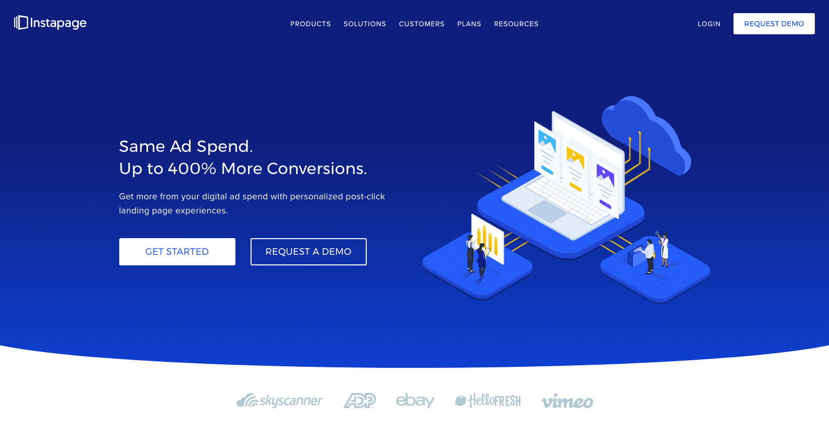 Instapage - The Advertising Conversion Cloud