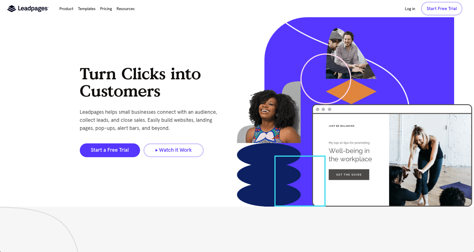 Leadpages - High-Converting Website & Landing Page Platform