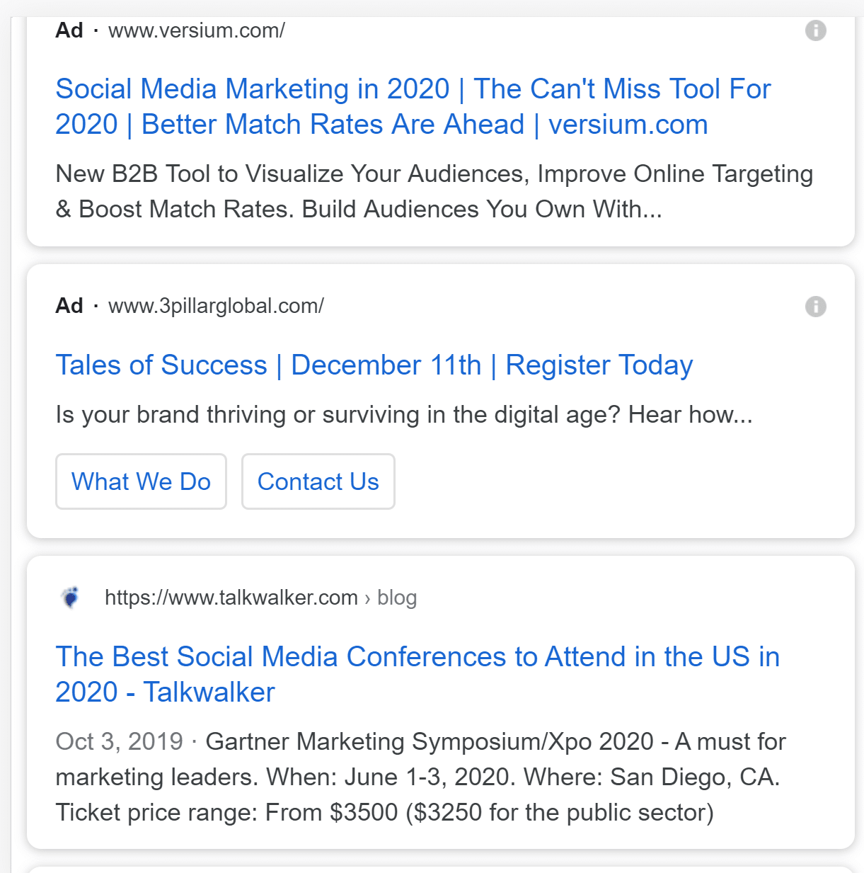 paid native ads in search