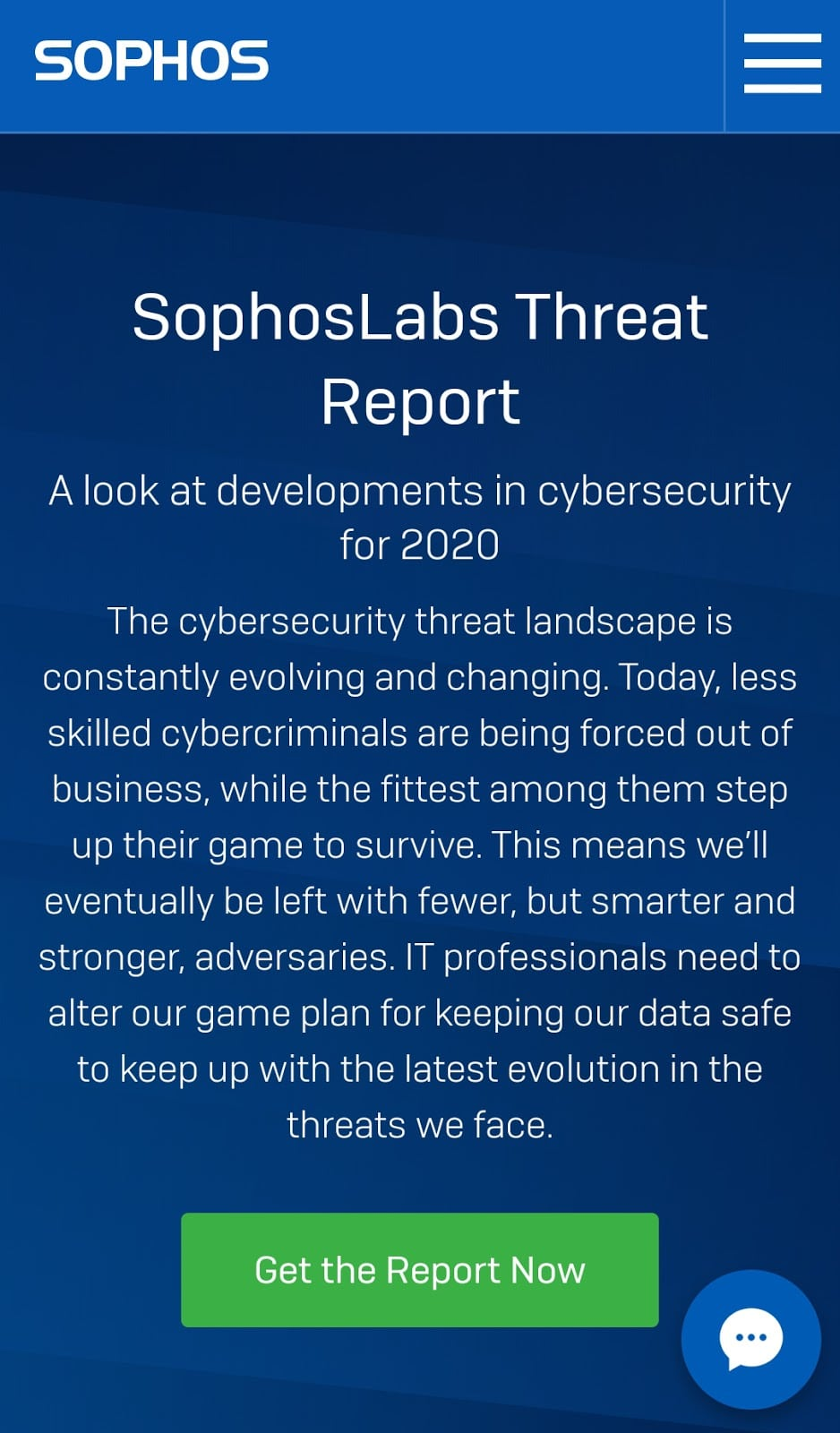 SophosLabs's cybersecurity report