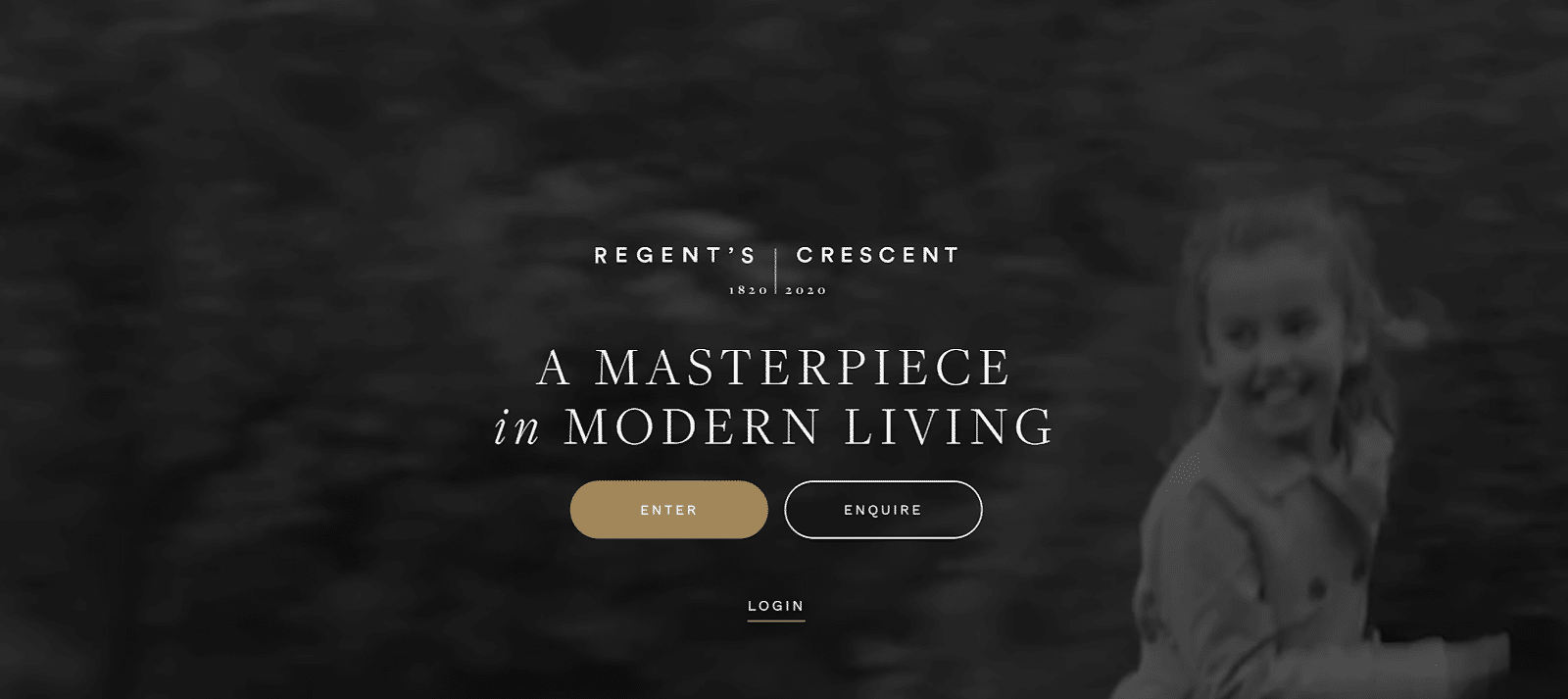 best real estate landing pages - regents crescent