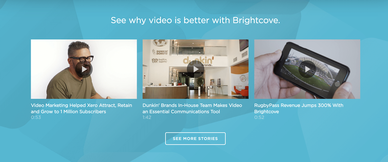 Brightcove differentiates itself in the level of control it offers with its video hosting capabilities.