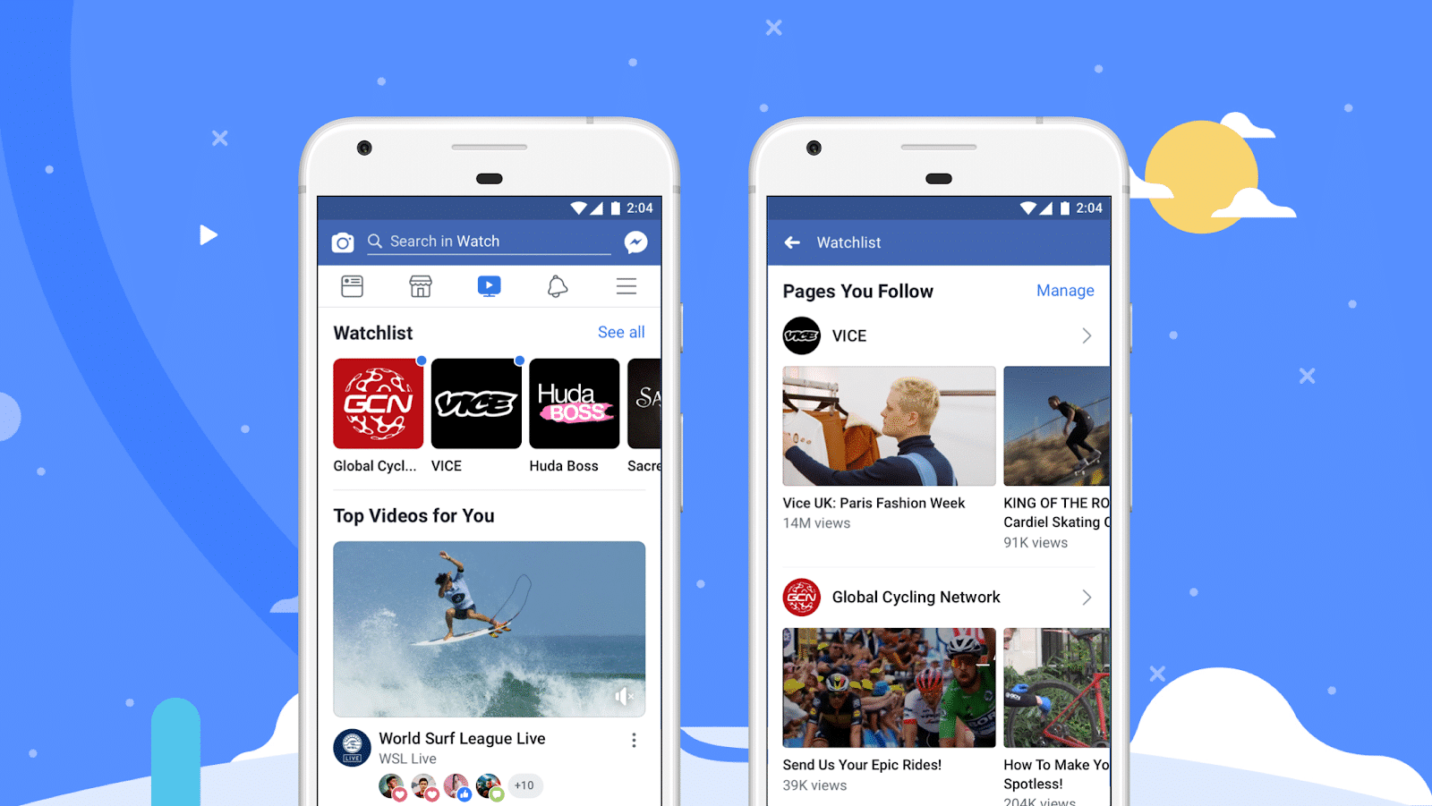 Facebook for video
