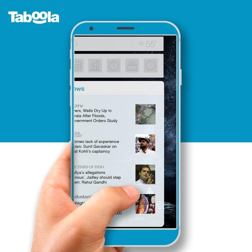 Taboola News jetzt auch auf Vivo – einer der Top 5 Smartphone Hersteller der Welt