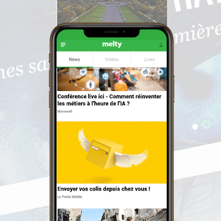 Le media digital destiné aux Millenials, meltygroup, utilise désormais Taboola Feed et Taboola Newsroom