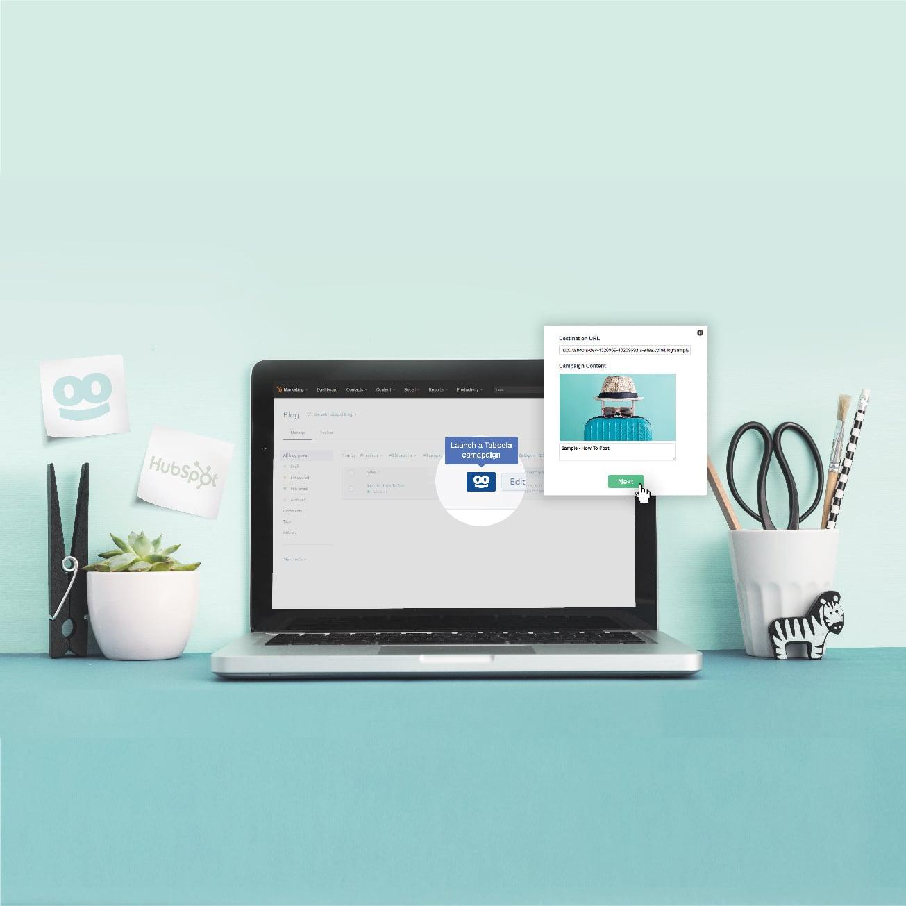 Hubspot & Taboola ouvrent la découverte de contenu à plus de 40,000 marques