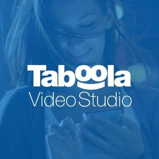 Bénéficiez de notre expertise créative : présentation du Taboola Vidéo Studio
