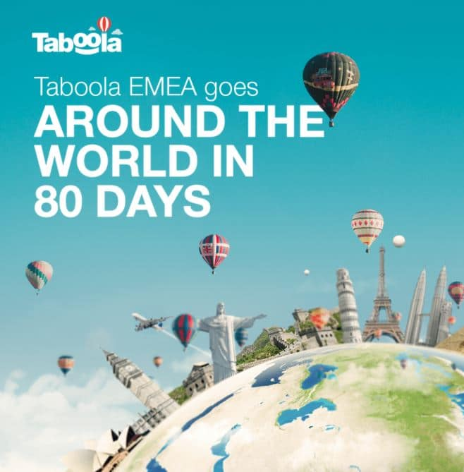 Around The World in (Less Than) 80 Days: How 256 Taboolars Came Together Over a Shared Goal