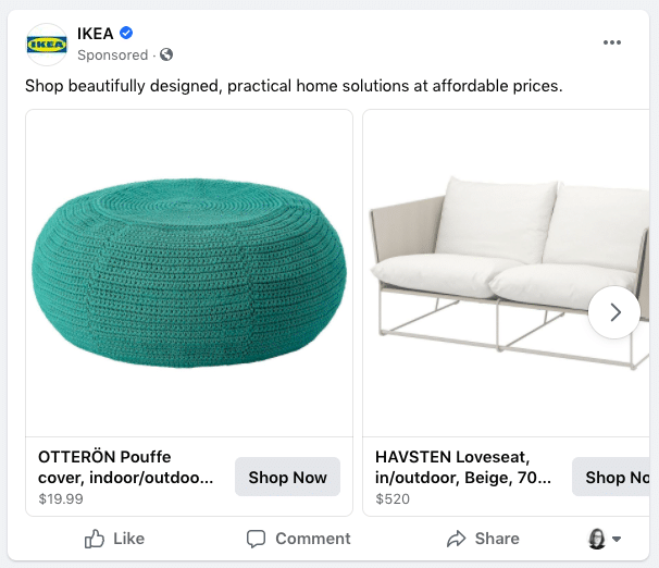 Ikea native advertising