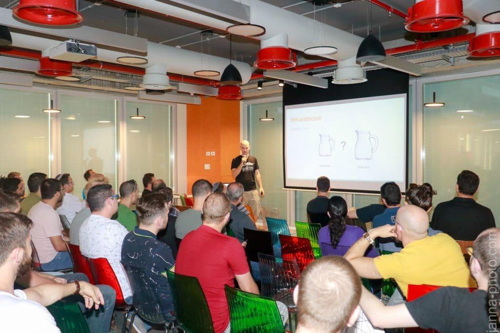 Tidhar @ Jenkins meetup talk