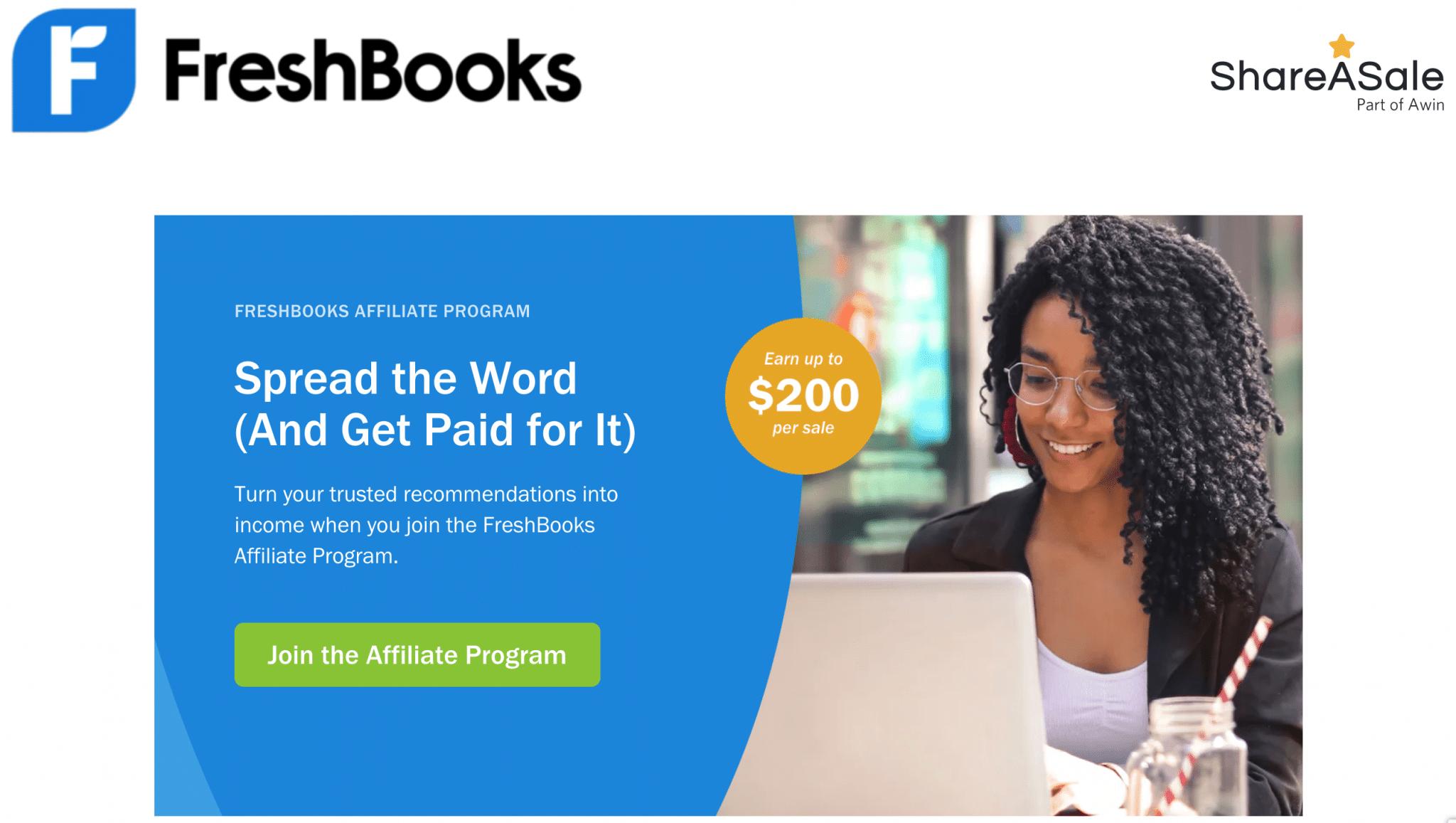 freshbooks - affiliate program