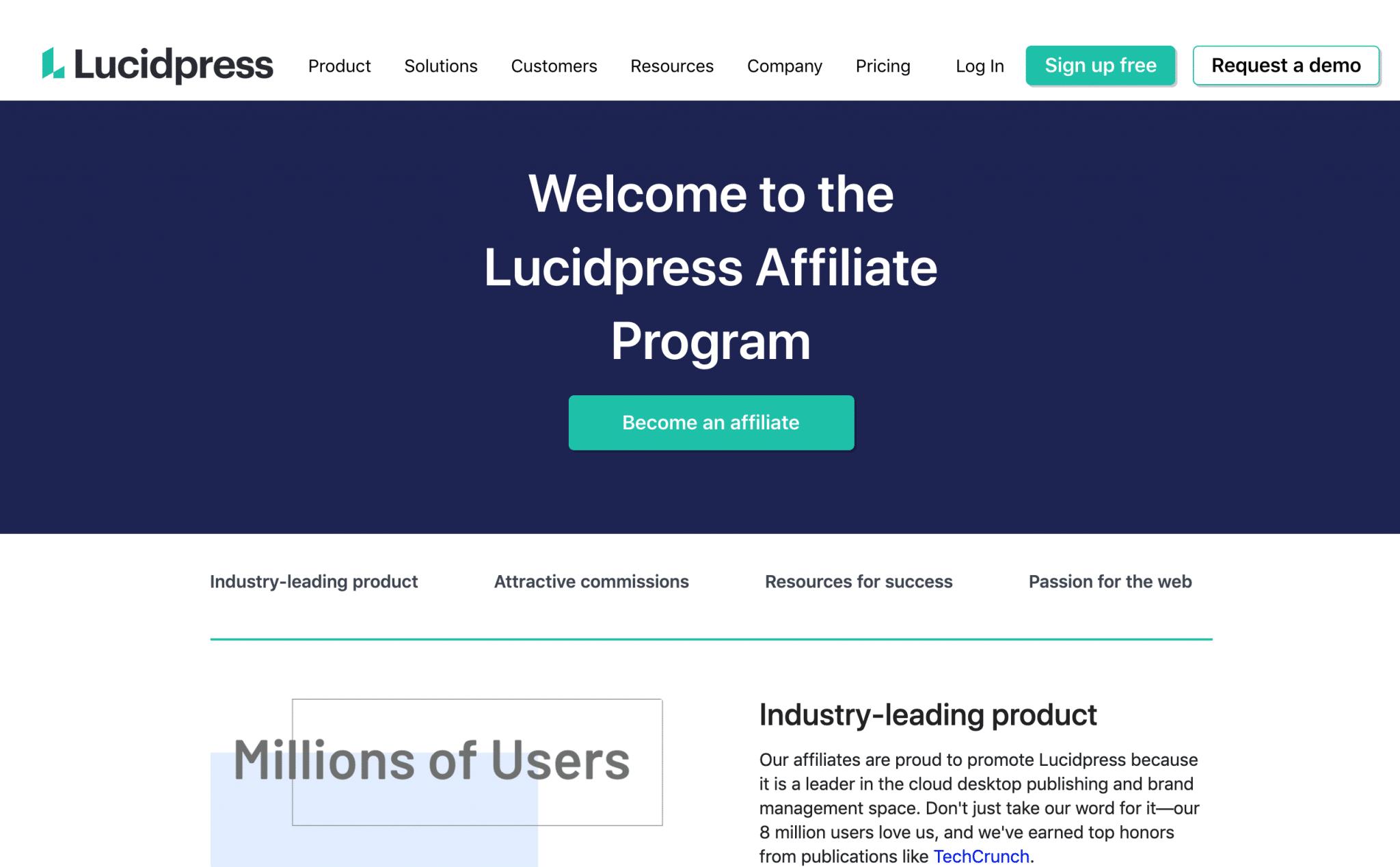 Lucidpress - affiliate program