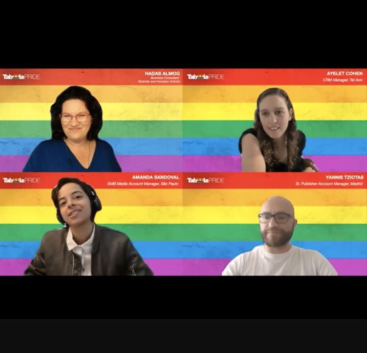 """""""Ich bleibe mir selbst treu"""": Taboola feiert Pride mit einem weltweiten internen Event"""